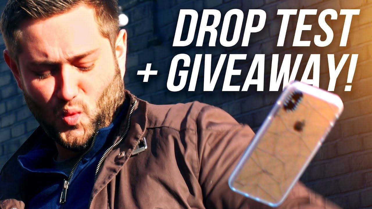 iPHONE XS MAX CASETIFY IMPACT DROP TEST + iPHONE XS MAX GIVEAWAY!