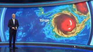 Tonga gets geared up for CAT5Cyclone GITA overnight AsoGafua12Fep2018