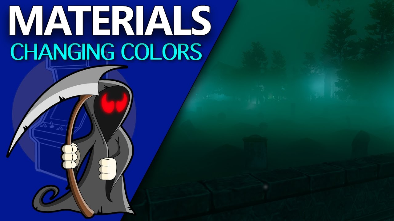 Material Color Change In Unity - Unity 3D Game Development: Week 1 - E014