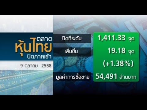 หุ้นไทยปิดพุ่ง 19.18จุดตามFund Flow