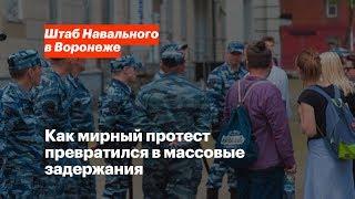 Митинг 5 мая в Воронеже