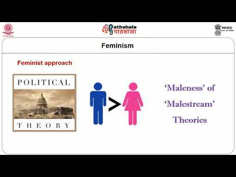Approaches to the Study of Political Theory Feminist Tradition