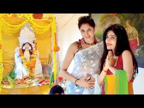 Bappi Lahiri, Kavita Kaushik & Others Visit Durga Puja Pandal