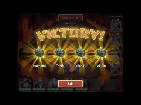 Castle Clash Lava Isle 3 Easy Farming