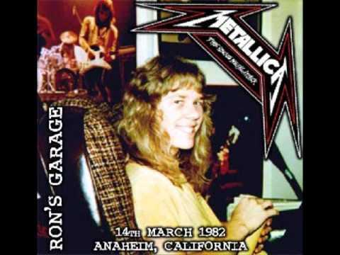 Metallica - Ron McGovney's Garage (14th March 1982) (Part 3)