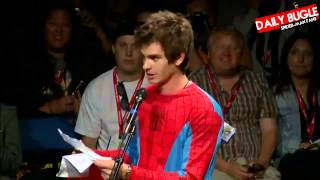 Thank you for everything Andrew Garfield
