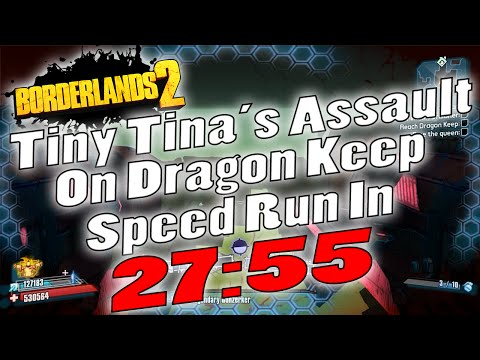 Borderlands 2 | Tiny Tina DLC UVHM Speed Run In 27:55 ... Borderlands 2 Scaling Dlc Uvhm