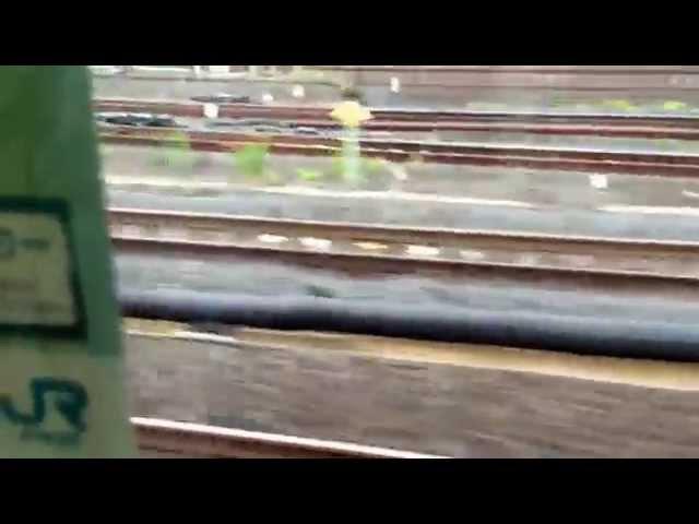 横浜線205系ラストラン 大船駅終着車内放送