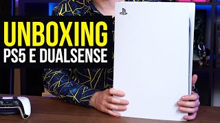 PlayStation 5 Unboxing Console e Dualsense