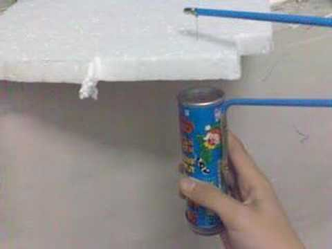 how to make a polystyrene cutter