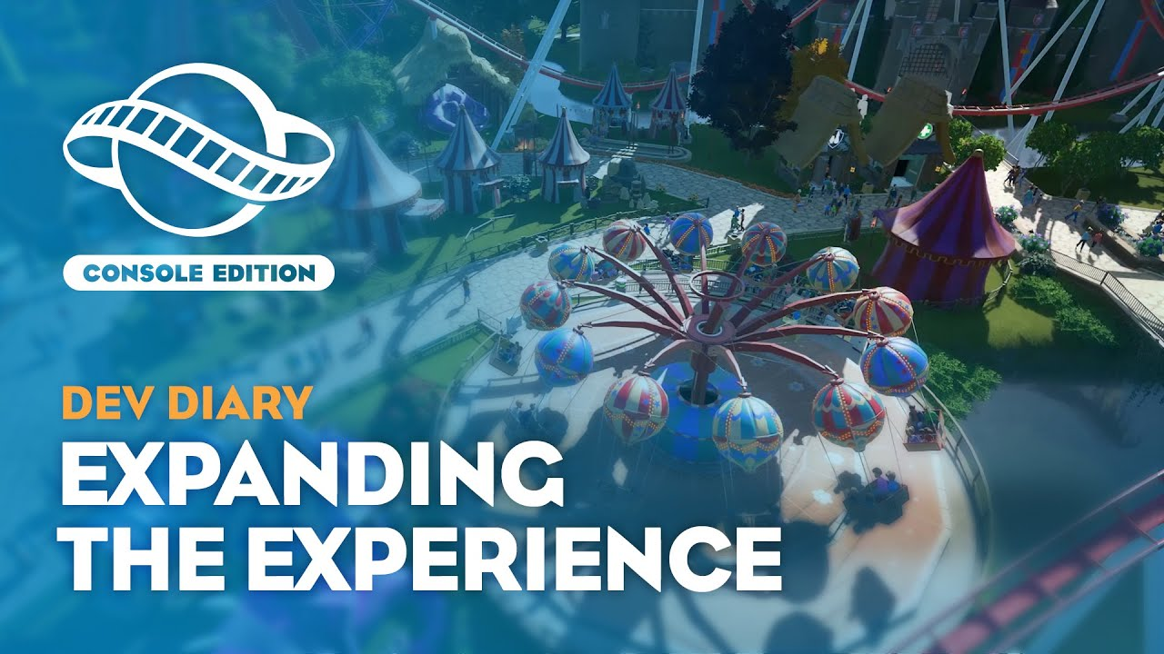 Planet Coaster: Console Edition | Dev Diary #1 | Expanding the Experience