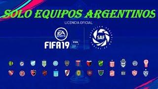 🔥HABLEMOS DE FIFA 19 / SOLO EQUIPOS ARGENTINOS/ DESPIDIENDO FIFA 18/ ÚNETE🔥
