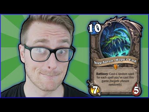 Yogg... I NEED MORE YOGG! (CRAZY RNG) | Shudderwock Shaman | Descent Of Dragons | Wild Hearthstone