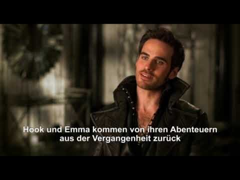 Once upon a time COLIN O'DONOGHUE (CAPTAIN HOOK) INTERVIEW zur Staffel 4