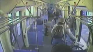 Ex-WWE Star Shawn Daivari Chokes Out Man in Train Rescue (official footage)