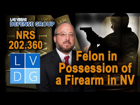 10 types of people who cannot legally own guns in Nevada