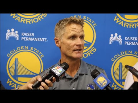 GSW Head Coach Steve Kerr on James Michael McAdoo