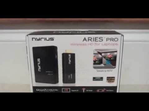 Nyrius ARIES Pro Digital Wireless HDMI Transmitter and Receiver System