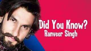 Ranveer Singh - 6 Most Interesting & Unknown Facts | #Jinnions