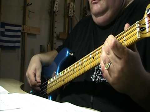 The Bee Gees You Should Be Dancing Bass Cover