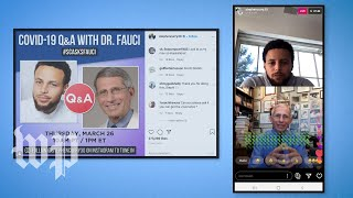 From Steph Curry to Trevor Noah: Celebs boost Anthony Fauci's coronavirus messaging