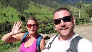 Hiking The Valle De Cocora in Colombia