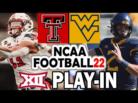 West Virginia vs Texas Tech - Big 12 Spring Tournament Play-In (2021-22 Rosters)