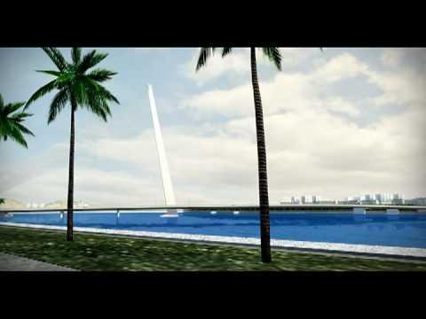 The New Nguyen Van Troi Bridge - Danang City - Vietnam
