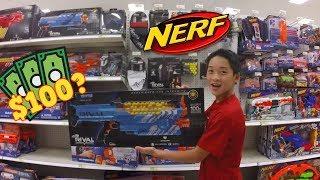 $100 NERF BUY AT TARGET! | Nerf Shopping #2