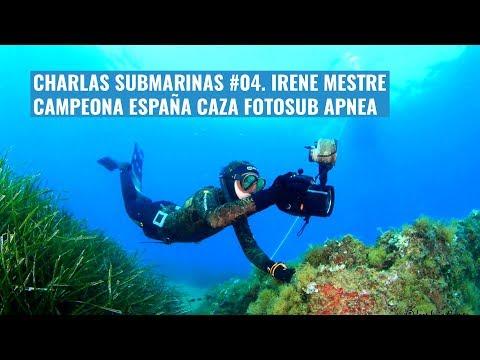 charlas-submarinas-#04.-irene-mestre,-campeona-españa-caza-fotosub-apnea