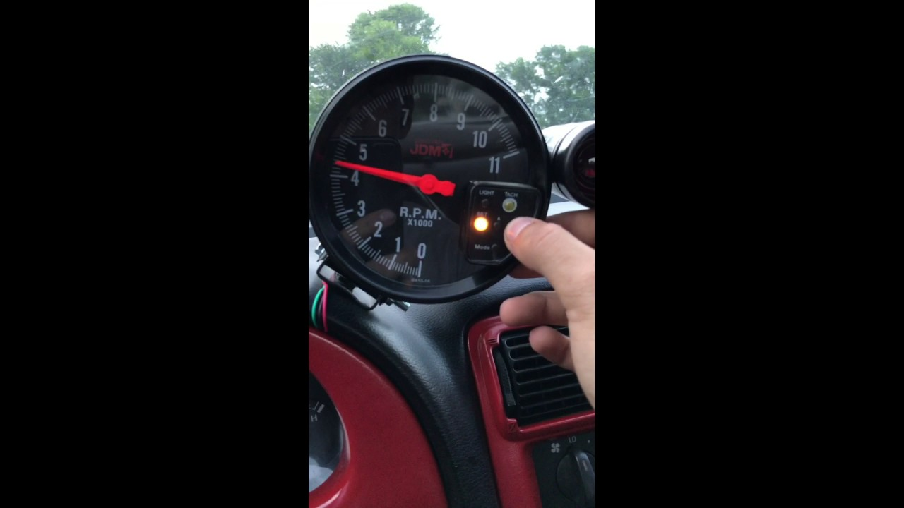 Tachometer Installed In Mustang Youtube 67 Gt Wiring
