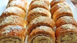 ГАТА. КЯТА. Восточная сладость. Вкусное печенье с ореховой начинкой!