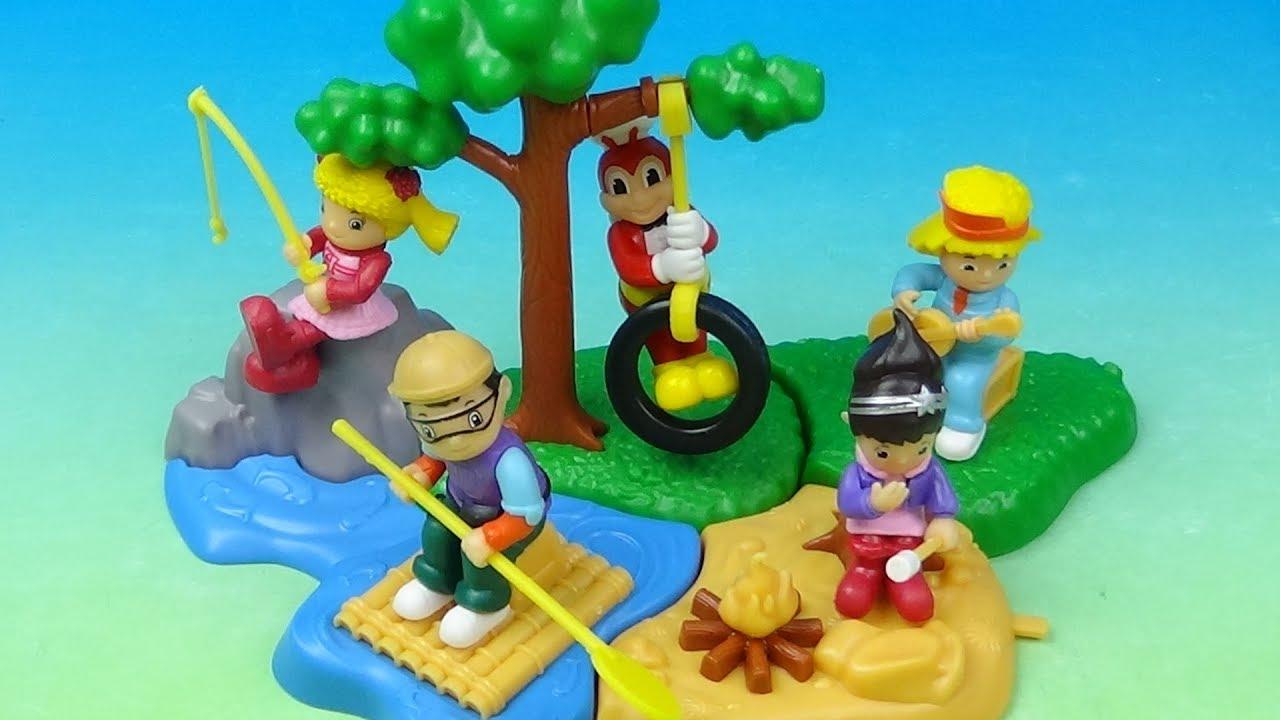2019 Jollibee Fun Camp Set Of 5 Kiddie Meal Toys Video