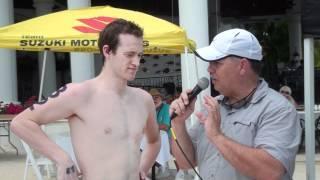 Andrew Gemmell - 10k Open Water Champion - 2012 Open Water 10k Championships, Miromar, FL
