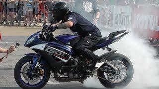 Stunters Battle - pokaz stuntu motocyklowego. Kortowiada 2017