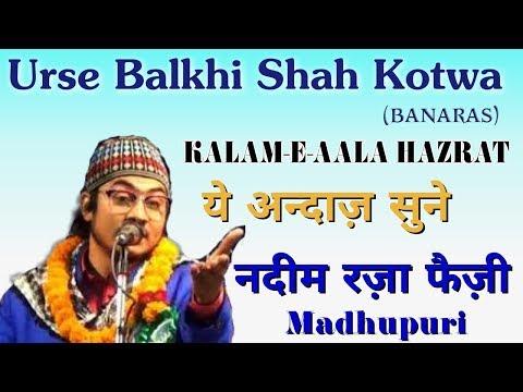 ये अन्दाज़ सुने || Nadeem Raza Faizi Madhupuri Naat 2018||wahi Rab Hai Jisne Tujhko||Urse Balkhi Shah