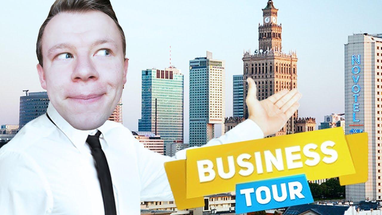 PLAGA CO DO WARSZAWY CZĘSTO WPADA! | Business Tour [#4] (With: Dobrodziej, Diabeuu, Plaga)