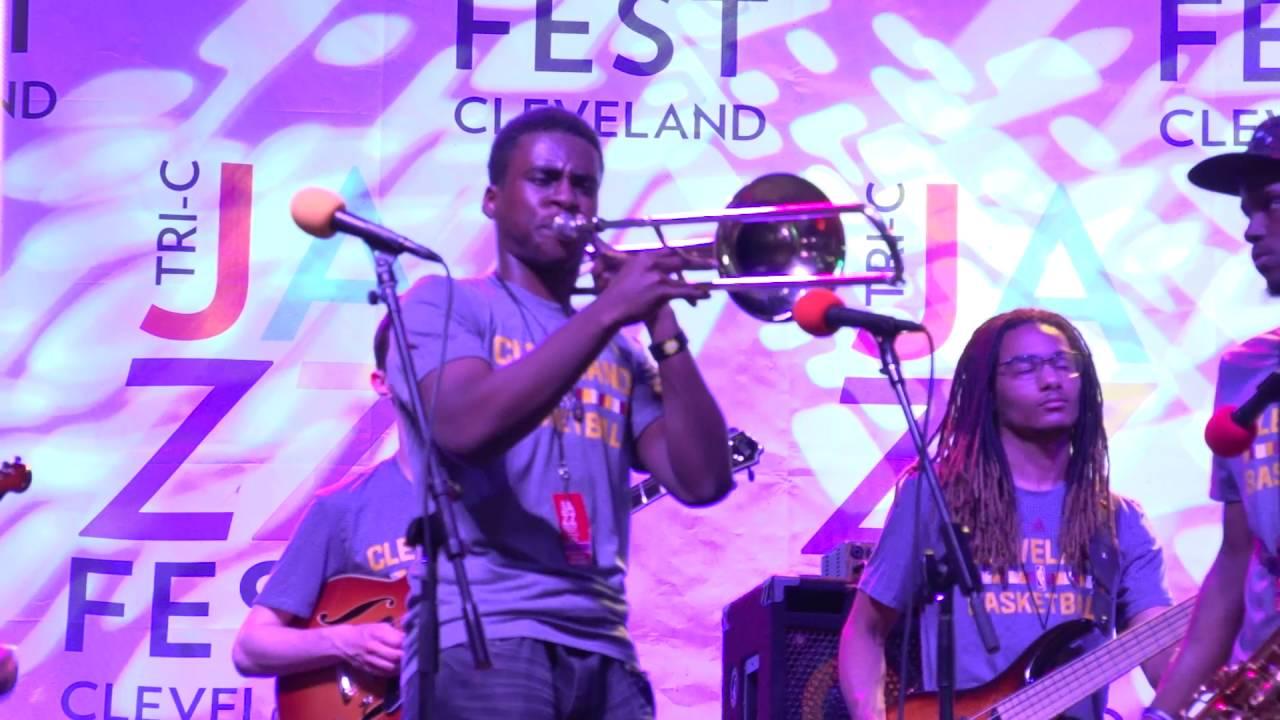 The FunkyardX highlights from Tri-C JazzFest 2016