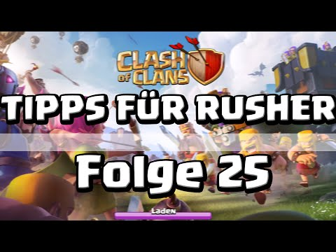 COC [025] - Tipps für Rusher! (Fredi) | Let's Play Clash of Clans [Deutsch/HD]