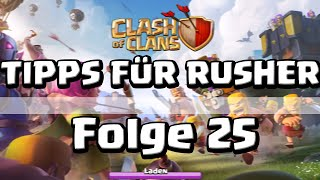 COC [025] - Tipps für Rusher! (Fredi) | Let's Play Clash of Clans [Deutsch/HD]