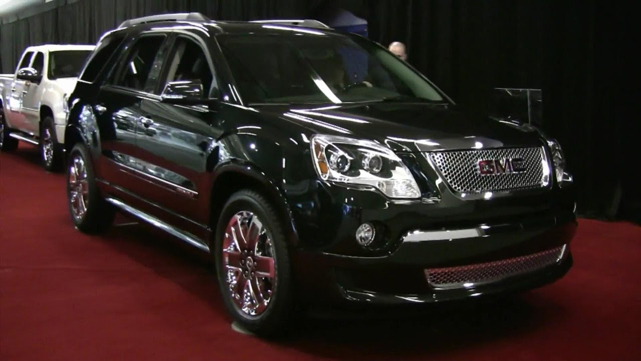 2012 Gmc Acadia Denali Awd Exterior And Interior At 2012 Montreal Auto Show