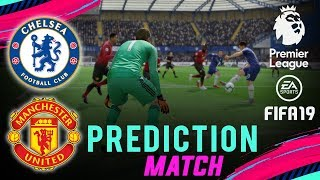Download Video CHELSEA vs MAN UNITED | FIFA 19 EPL Predict Matchday 9 | Broadcast Camera - 1080HD MP3 3GP MP4