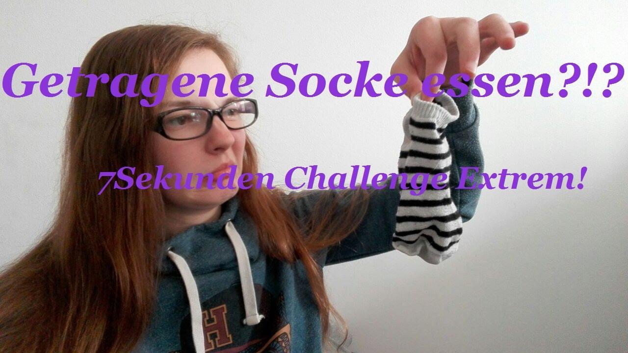 Dreckige Socken essen?!?! 7 Sekunden Challenge EXTREM