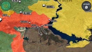 15 мая 2017. Военная обстановка в Сирии. ИГИЛ выбито из авиабазы Джирах. Русский перевод.
