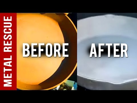How To Remove Rust From Cast Iron: Cast Iron Frying Pan Rust Removal