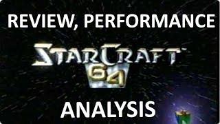 StarCraft 64 Analysis - RTS port for Nintendo 64 [ENG SUB]
