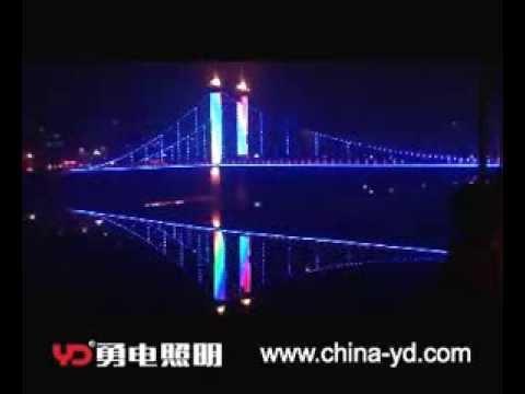 Bridge decoration lighting Zhuji Huanjiang Bridge