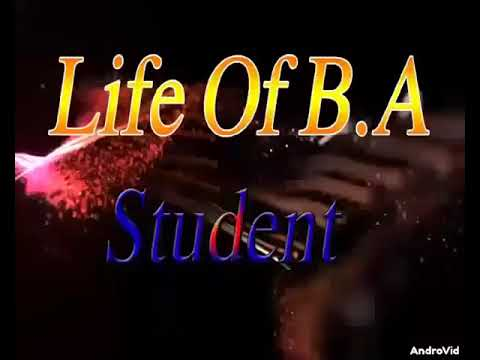 Lif Of .B.A.student;Ahsan.kashi Baba