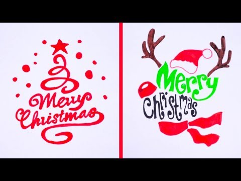 23 Smart Drawing Tricks For Merry Christmas Day