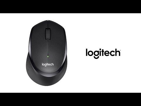 Миша Logitech B330 Silent Plus Wireless Black (910-004913)
